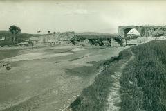 Inizio ricostruzione del Ponte Valentino nel 1932
