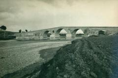 Vista del Ponte Valentino in una immagine d'epoca