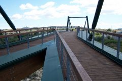 Vista del Ponte Pedonale