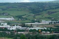 Vista panoramica degli insediamenti